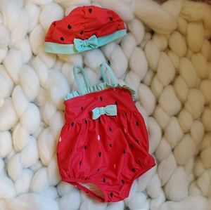Other - Infant swim suit with hat